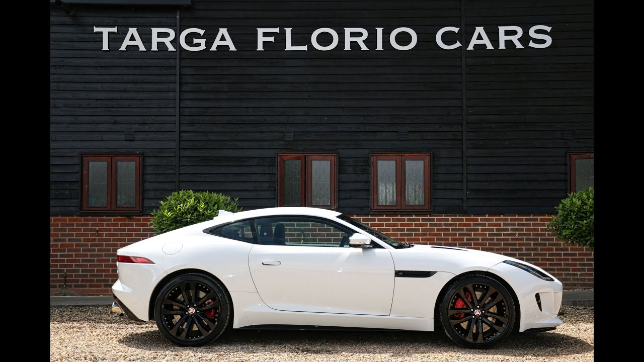Jaguar F Type R 5 0 V8 Supercharged In Polaris White With