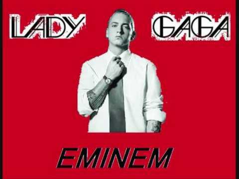 Lady GaGa vs Eminem  Without my poker face