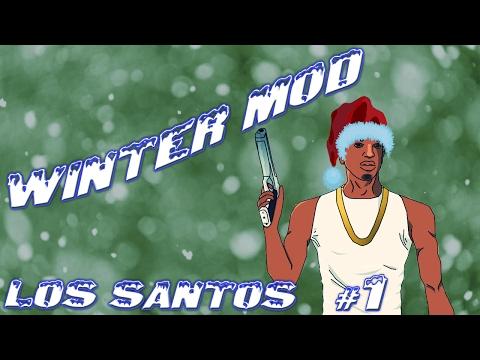 Grand Theft Auto San Andreas - Winter Mod [Los Santos #1]