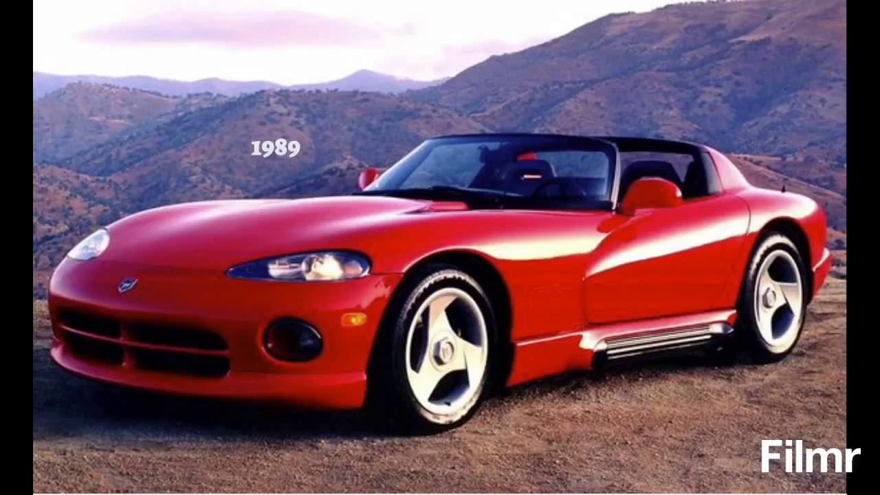 Evolution of the Dodge Viper (1989-2021 - YouTube