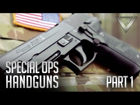 Special Ops Handguns Pt. 1 - 1911A1, M9, SIG 226, Glock 22, HK 45C
