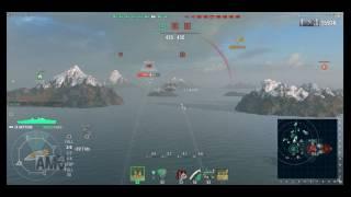 今回は前回に引き続き、イギリスT9巡洋艦ネプチューンを使用した試合に...