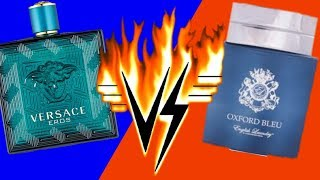 ENGLISH LAUNDRY OXFORD BLEU VS. VERSACE EROS #review