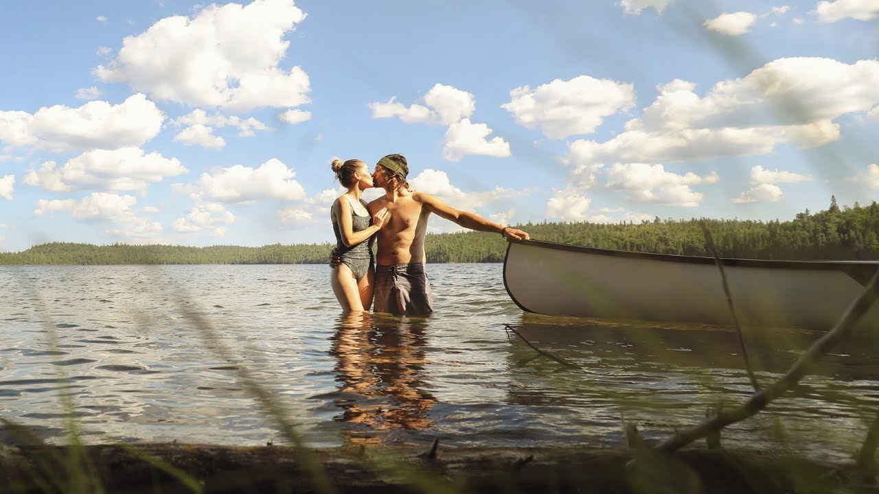 ESCAPE TO THE WILDERNESS: Temagami Backcountry Canoe Trip - Smoothwater  Lake - MOOSE SIGHTING!