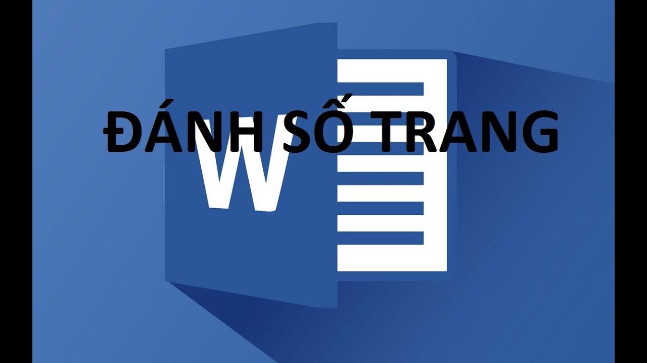Hướng dẫn cách đánh số trang trong word 2007 và 2010