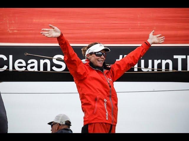 """Carolijn Brouwer wint Volvo Ocean Race: """"Ik heb nooit getwijfeld"""""""