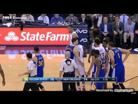 Golden State Warriors vs New Orleans Pelicans 2016 17 NBA season December 13th full highlights