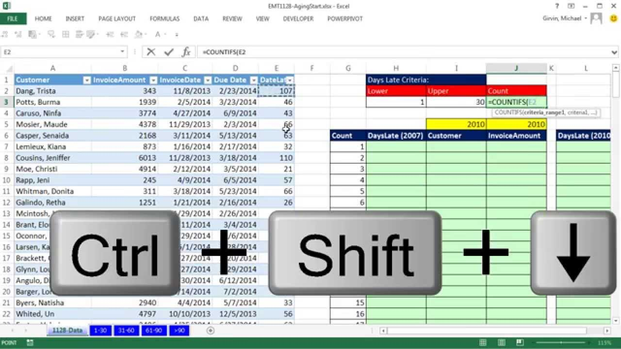 Ediblewildsus  Nice Excel Magic Trick  Aging Accounts Receivable Reports On  With Inspiring Excel Magic Trick  Aging Accounts Receivable Reports On Multiple Sheets With Array Formula  Youtube With Divine How To Randomize A List In Excel Also How To Insert Excel Spreadsheet Into Word In Addition Spell Check On Excel And How To Unhide All Columns In Excel As Well As Excel Glossary Additionally How To Make Chart In Excel From Youtubecom With Ediblewildsus  Inspiring Excel Magic Trick  Aging Accounts Receivable Reports On  With Divine Excel Magic Trick  Aging Accounts Receivable Reports On Multiple Sheets With Array Formula  Youtube And Nice How To Randomize A List In Excel Also How To Insert Excel Spreadsheet Into Word In Addition Spell Check On Excel From Youtubecom