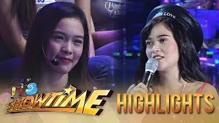"Video It's Showtime Miss Q & A: Bela Padilla's ""hugot"" on boys download MP3, 3GP, MP4, WEBM, AVI, FLV Juni 2018"