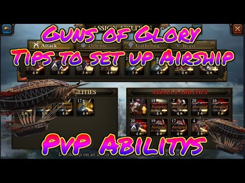 Guns Of Glory How to set up PVP Airship tips