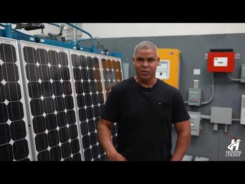 Gilberto Rivera - Estudiante Veterano de Tecnología en Electricidad en Huertas College.