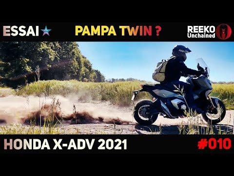 ESSAI X-ADV 2021 : PAMPA TWIN OU PAS ? HONDA ⭐ REEKO Unchained