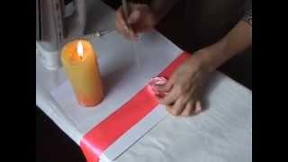 цветы из ткани видео(Мастер класс как красиво и быстро сделать цветы из ткани - видео урок. Украсить таким цветком подарок или..., 2011-09-22T03:22:03.000Z)
