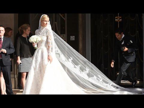 Nicky Hiltons Wedding Dress Echoes Princesses Kate Grace