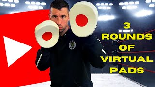 3 x 2 Minute Rounds Of Virtual Pads | Wimborne Boxing Club