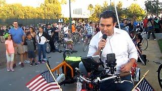 San Jose Mayor City Council Candidates at July 18 San Jose Bike Party