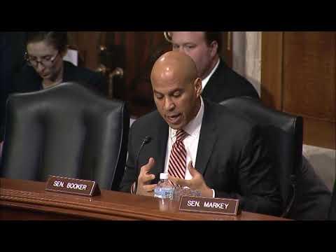 Sen. Cory Booker Questions EPA Administrator Scott Pruitt