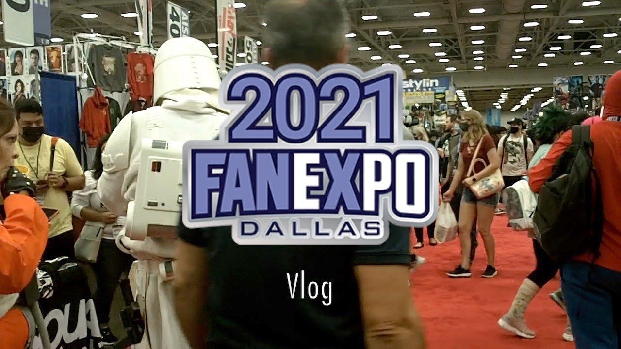 Download Fan Expo Dallas 2021 Vlog