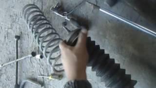 Как заменить задний амортизатор (стойку) ВАЗ 2114