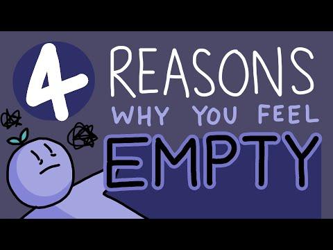 4 Reason Why You Feel Empty
