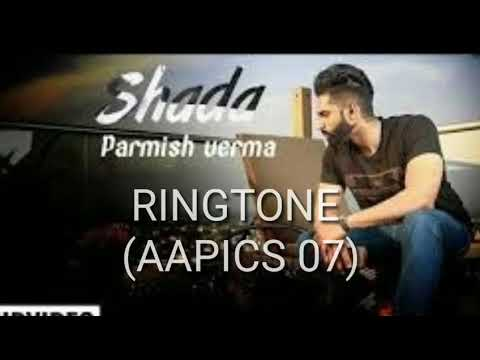 Shada Ringtone | Parmish Verma