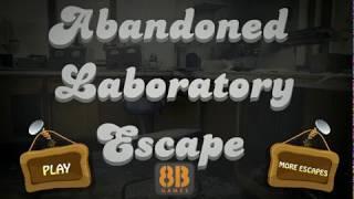 8b abandoned laboratory escape walkthrough