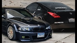 NISSAN 350Z z33 VS BMW M3 E46 -||- Versus Series