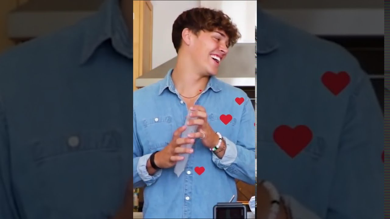 Noah Beck reveals his TIK TOK CRUSH?!