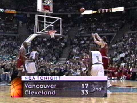 Luc Longley Nearly Sets Full Game Career-High in First Quarter (1996)