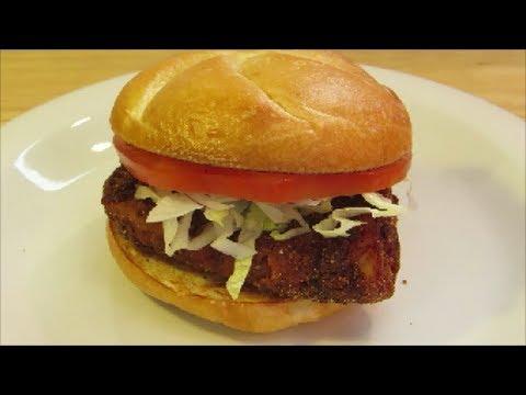 Spicy Cajun Fish Sandwich
