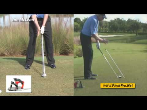 Jim McLean: Swing Plane Tips & Drills and Head Position