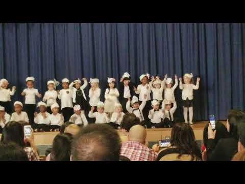 Eason elementary school first performance.