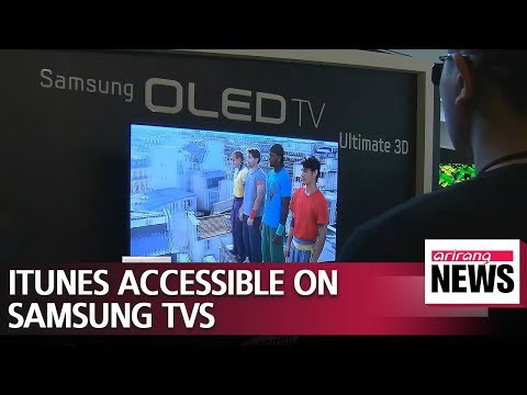 Samsung to make Apple's iTunes content accessible on Smart TVs