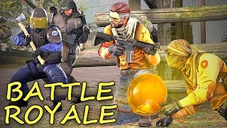 GRAM W CS:GO BATTLE ROYALE czyli Danger Zone! | Mervo