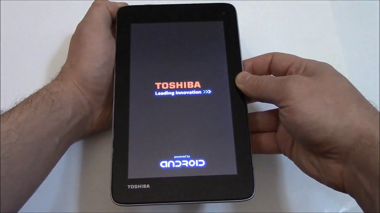 how to hard reset a toshiba excite tablet youtube rh youtube com Toshiba Thrive Parts List Toshiba Thrive Jelly Bean Update