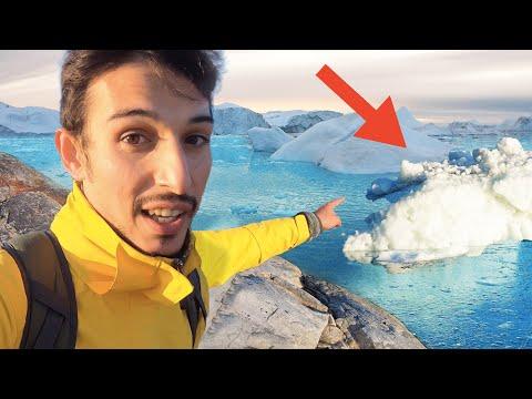 Bu suya düşmek istemezsiniz! - Dev buzullarda 1 Gün Geçirmek