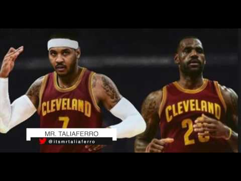 Carmelo Anthony To The Cleveland Cavaliers In A Three Team Trade Could Happen Tomorrow