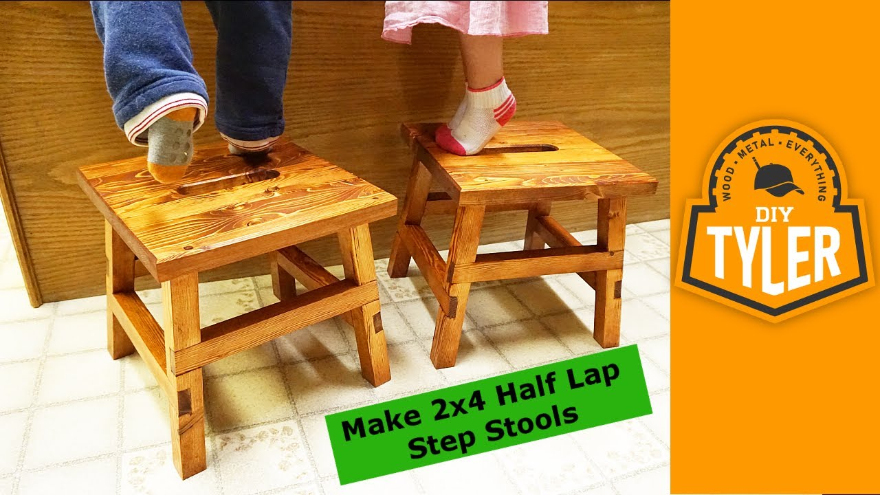 DIY Step Stools 023  YouTube