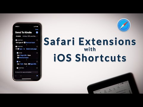 Build Your Own Safari Extensions For The IPad And IPhone (Shortcut Sunday)