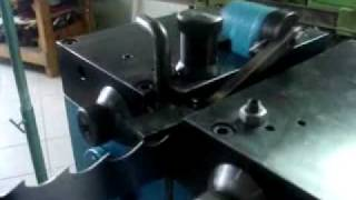 Setting Machine For Band Saw Blades Used At Portable Sawmills And Similar