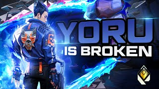 YORU is SO BRΟKEN - Coco 🥥 (Valorant Montage) (Radiant Ranked) [1440P]