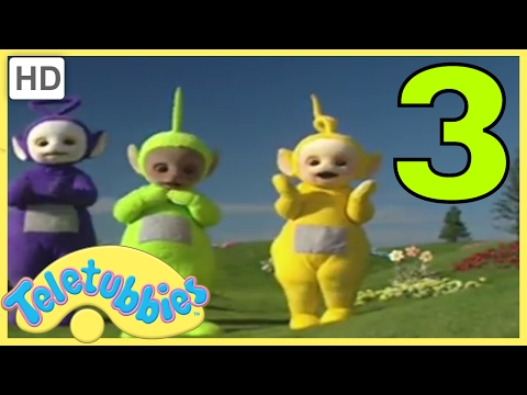 Teletubbies: Number Three - Version 2 | 152 | Cartoons for Children