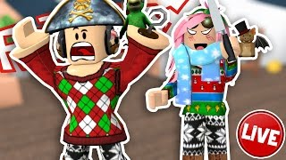 Roblox ITA-Live-Murder Mystery with you! -live the Befana