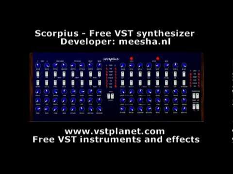 Scorpius – Free VST Synthesizer – vstplanet com