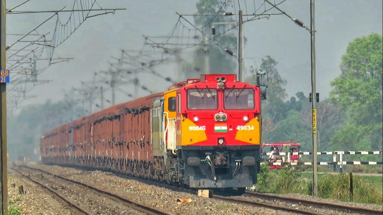 भारतीय रेल के शक्तिशाली डीजल रेल इंजन। Powerfull Diesel Locomotives Of Indian Railways On High Speed
