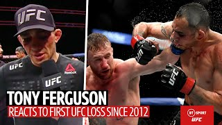 """""""Let's get back at it!"""" Tony Ferguson reacts to UFC 249 defeat"""