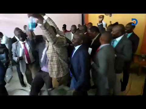 Chaos erupt at the Kirinyaga County Assembly after the Punguza Mzigo Bill was withdrawn