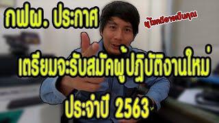 กฟผ.ประกาศเตรียมรับสมัคงาน ประจำปี 2563 #Hotline EGAT