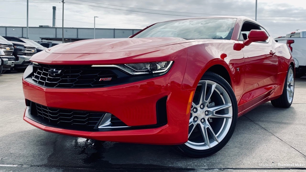 2019 Chevrolet Camaro RS (3.6L V6) - Review - YouTube