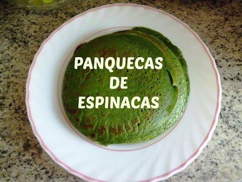 PANCAKES DE ESPINACA / SPINACH PANCAKE